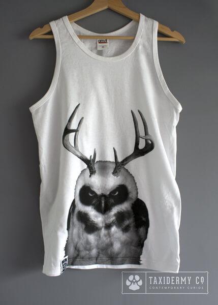 Owl Tank Top Unisex