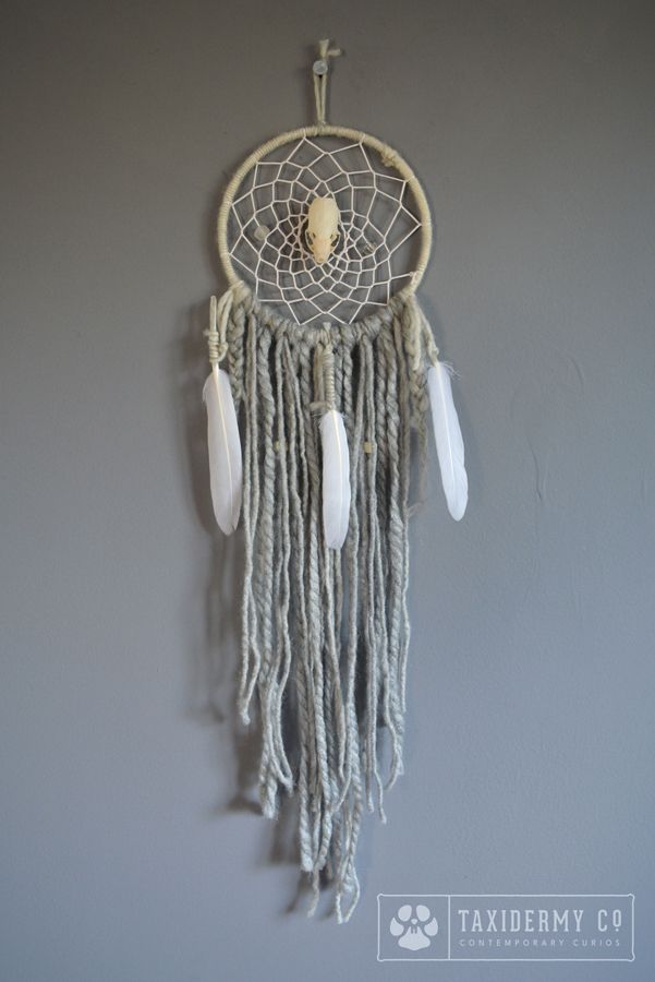 Handmade Grey dreamcatcher