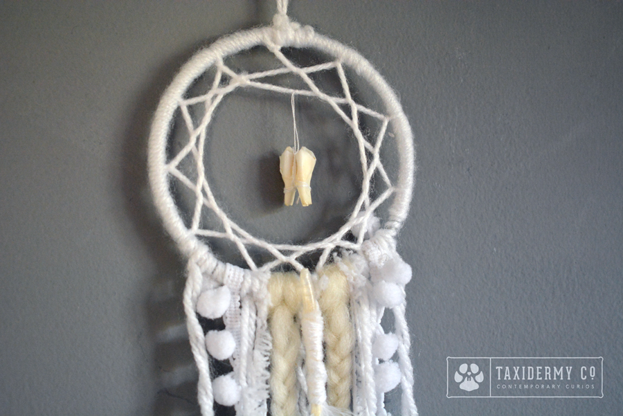 Tooth Handmade Dreamcatcher