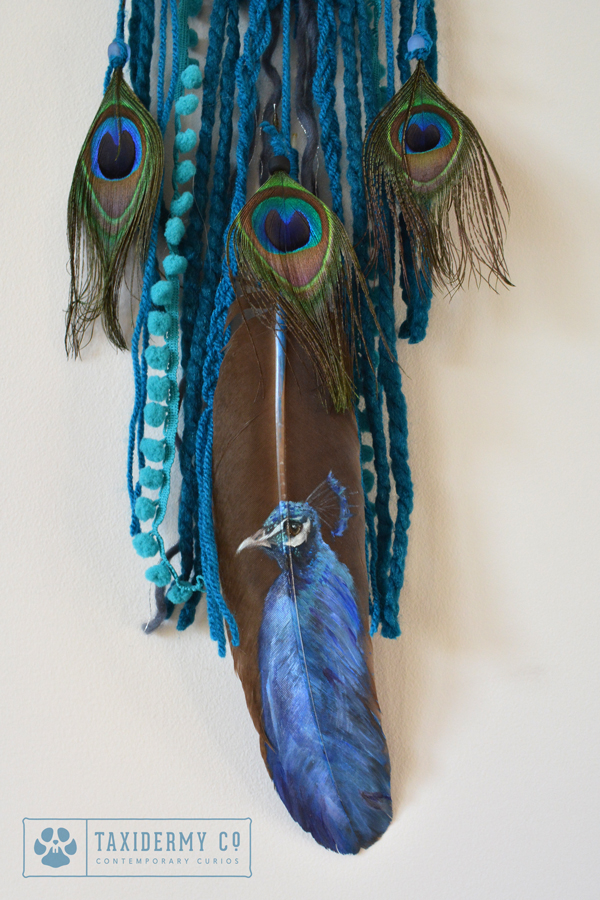 Painted Feather Dreamcatcher